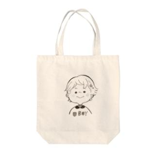 そばかす男の子 Tote bags