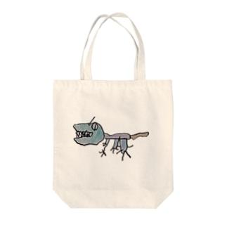 ぼくのアロサウルス 恐竜 Tote bags