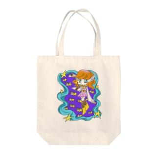通信中☆ Tote bags