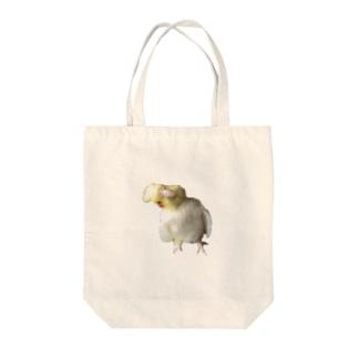 WAKIWAKIおかめちゃん Tote bags