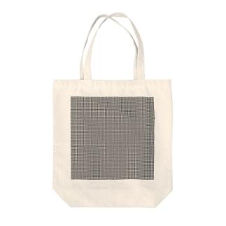 grid Tote bags