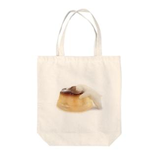 しろくまプリン Tote bags
