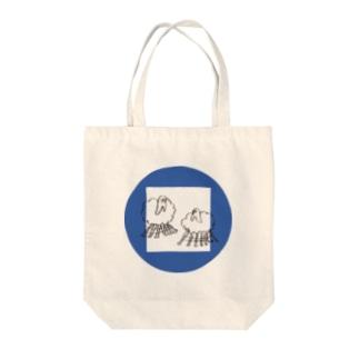 戯れ Tote bags
