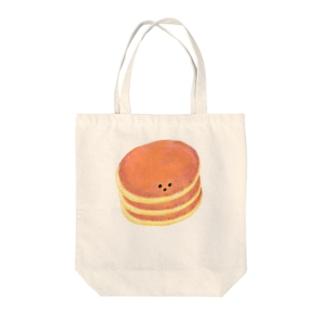 パンケーキくん(イセたん)3枚重ね トートバッグ