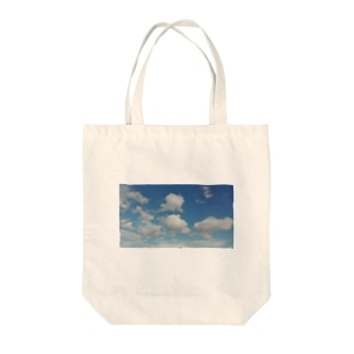 SKYsky Tote bags
