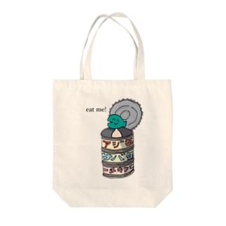 缶詰 Tote bags