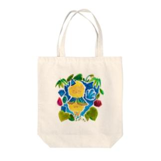 魔法の森の宝石ひつじ Tote bags