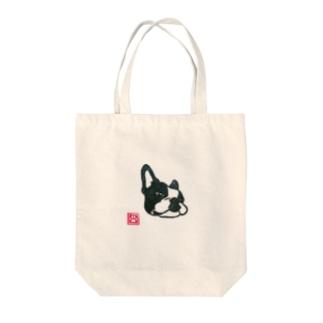 ふてボストン Tote bags