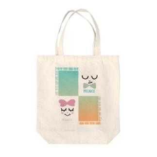 prince&princess Tote bags