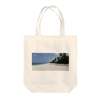 モルディブで癒しを Tote bags