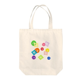 まるしかく Tote bags
