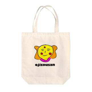 おじぞうさん デザイン Tote bags