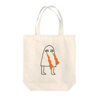 メジェド・ビーーーム Tote bags
