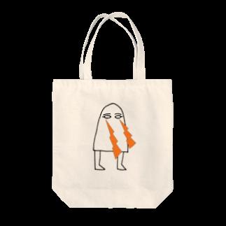 Sylvia T Egyptのメジェド・ビーーーム Tote bags