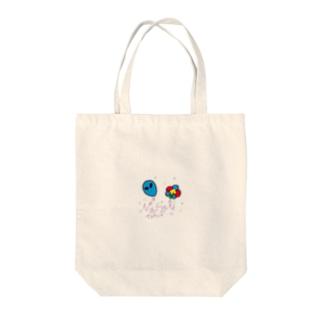 ナスティーちゃん Tote bags