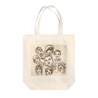 小顔マジシャンタオル Tote bags