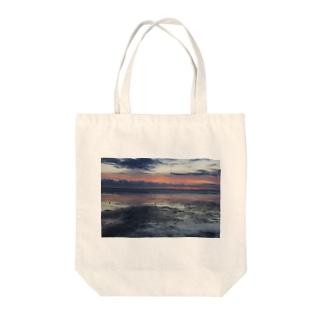 北海道の風景シリーズ 宗谷岬 Tote bags
