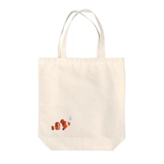 Clown anemonefish Tote bags