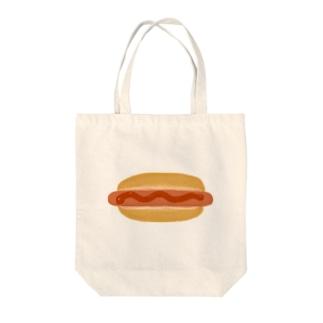 HOTDOG Tote bags