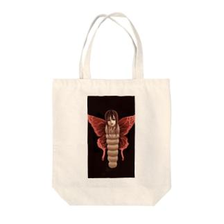 少女蝶 Tote bags