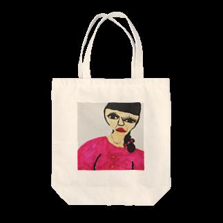 Lin'sのはらだまきえ Tote bags