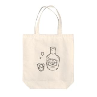 ウイスキー Tote bags