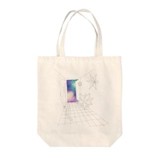 玄関先の宇宙 Tote bags