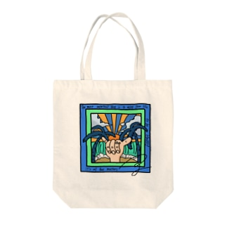 a sunset  Tote bags