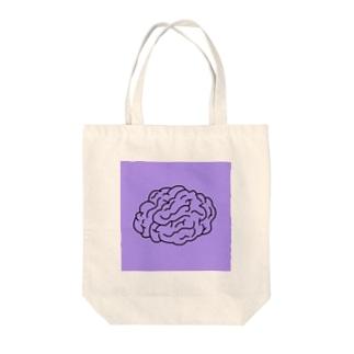 脳みそ Tote bags