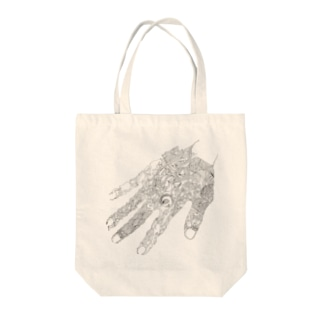 Connection (no color) Tote bags