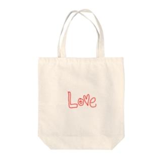 Love大好き Tote bags