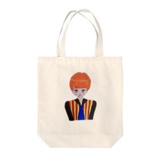 個性的なキラちゃん Tote bags