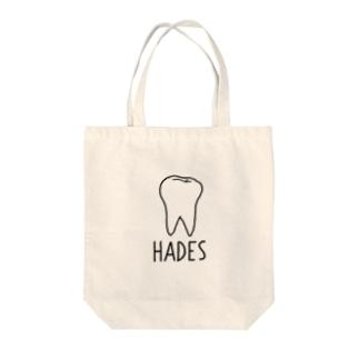 HADES Tote bags