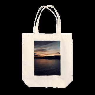 yohsakuraの夕間飛行 Tote bags