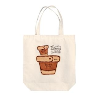 レザー鉢の Tote bags