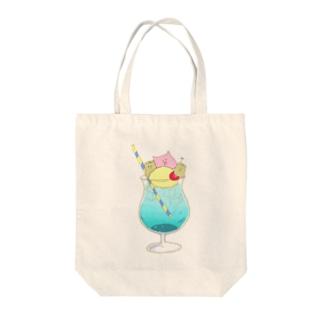 もんぶーソーダ Tote Bag