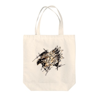 オウギワシ Tote bags