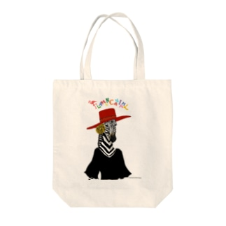 FLAMENCANIMAL(フラメンカニマル)シマウマ Tote bags