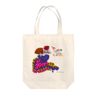 FLAMENCANIMAL(フラメンカニマル)ネコ Tote bags