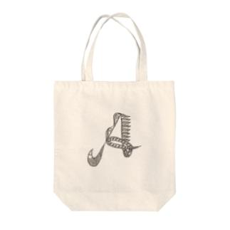 イニシャル A Tote bags