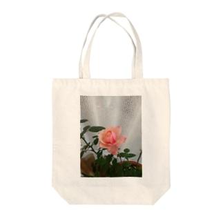 愛の花シリーズ Tote bags