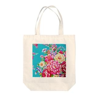 中国語シリーズ『百年好合』四字熟語 Tote bags