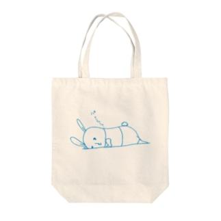 限界うさぎ Tote bags