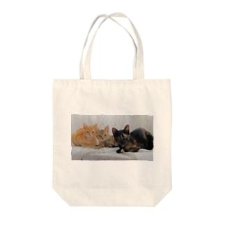 ちびニャンズ Tote bags