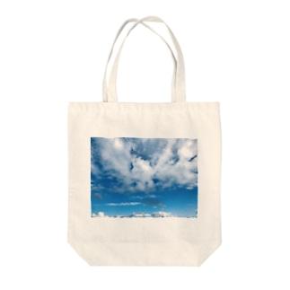 雲がもくもく Tote bags
