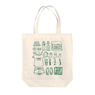 He joy. summerbeach Tote bags