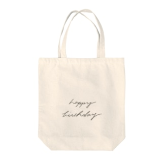 happy birthday Tote bags