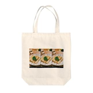 お婆ちゃんのカツサンド Tote bags