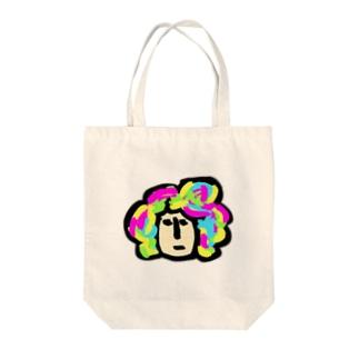 キャラ濃すぎピーポー Tote bags