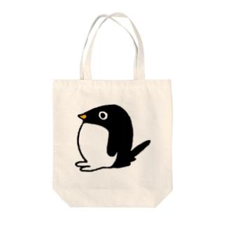 まんまるアデリーペンギン(ぼんやり) Tote bags